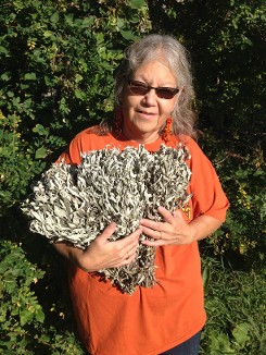 Colleen Cordell with Native American Herbs